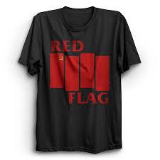 London Flag Photos Red Flag Red London Merch T Shirt Punx Uk