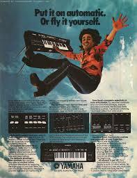 retro synth ads yamaha e 70 organ ad 2 contemporary keyboard 1981
