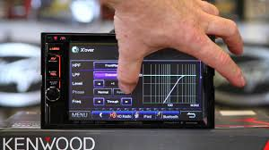 how to do the sound settings on the kenwood excelon ddx492 6 2
