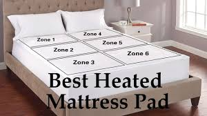 best heated mattress pad king u0026 queen size youtube