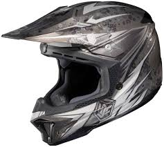 black motocross helmets 98 62 hjc cl x7 clx7 pop n lock helmet 198809