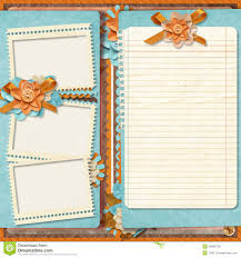templates for scrapbooking retro family album 365 project scrapbooking templates stock