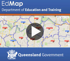 map of queensland catchment maps
