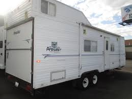 fleetwood prowler 5th wheel floor plans 2002 fleetwood prowler 26 toyhauler travel trailer salt lake city