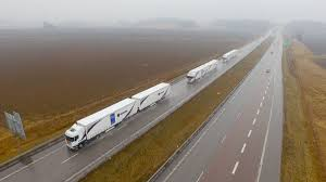 how much is a new volvo truck a fleet of trucks just drove themselves across europe u2014 quartz