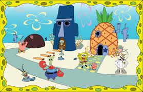 spongebob and friends by kshusker on deviantart