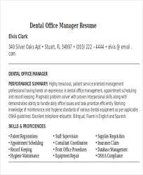 Dental Office Resume Sample by Dental Office Resume Office Skills On Resume Administration Cv