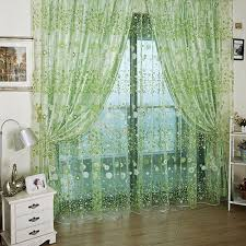 100 x 270cm chiffon gauze sheer window curtain 100 x 270cm 5 28
