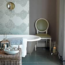 Wallpapers For Bathrooms Create Your Own Escape With Great Wallpaper For Bathrooms