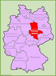 Dma Map Saxony Anhalt Location On The Germany Map