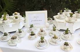 tea cup favors 30 unique teacup wedding favors tea cup succulent wedding favors