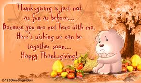 missing someone on thanksgiving free miss you ecards greeting