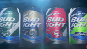bud light in the can what does the beer in your nfl team s can taste like first order