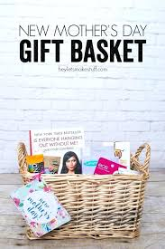 s day gift for expectant new gift basket easy fast inexpensive mothers day gift
