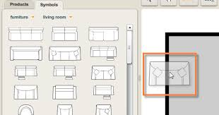 creating a plan u003e adding furniture u003e adding symbols to your plan