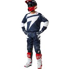 motocross combo gear 2018 shift 3lack mainline gear kit navy sixstar racing