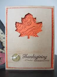 simple sweet leafy thanksgiving card allfreepapercrafts
