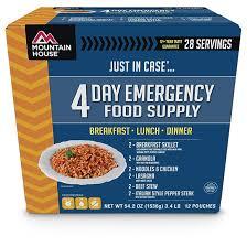 Mountain House Food Emergency Survival Food Kits X X Us 2017