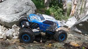 suzuki samurai rock crawler 1 18 temper 4wd rock crawler brushed rtr blue white horizonhobby
