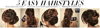 hair tutorials for medium hair how to 5 amazingly cute easy hairstyles with a simple twist