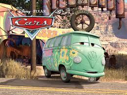 volkswagen bus iphone wallpaper fillmore the vw bus from pixar u0027s cars movie desktop wallpaper