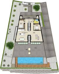 floor plans of 55 ocean view villa
