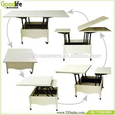 Folded Dining Table Wooden Wheels Easy Moving Folding Dining Table Glt13010 Buy