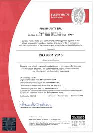contact bureau veritas certification iso 9001 2015 finimpianti