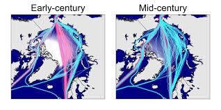 Light Year To Year Sea Ice Decline Means Arctic Ocean Shipping Routes Will Be Open