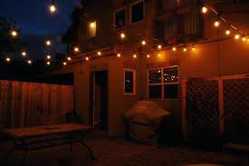 How To String Patio Lights How To Hang Lights From Ceiling How To Hang String Lights From