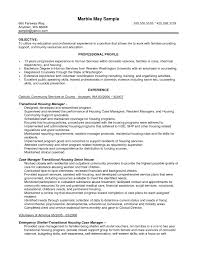 Resume With Community Service Sample Resume Case Manager Resume For Your Job Application