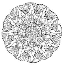 free coloring pages for you to print mandalas pinterest