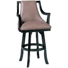 swivel bar stool with arms leather bar stool with arms home
