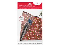 merry jumbo plastic gift bag american greetings