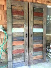 Rustic Closet Doors Rustic Closet Doors Closet Barn Doors Made From Reclaimed Wood By