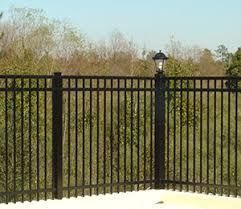 ornamental fences b t fencing