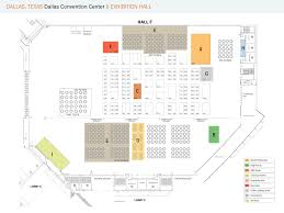 Dallas Convention Center Map by Floorplans
