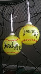 Softball Christmas Ornament - best 25 softball crafts ideas on pinterest softball room girls