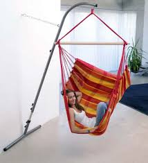 hanging chair indoor with stand in supple home design hanging