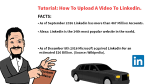 How To Upload Your Resume On Linkedin How To Upload A Video To Linkedin Youtube