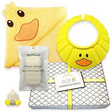 care baby shower gentle care baby shower bath gift set soft 100 cotton hooded