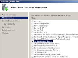 installer bureau à distance publier une application sous windows server 2008 première partie