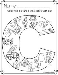 building our letter recognition all about the letter c by