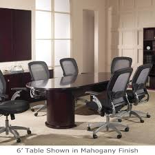 12 ft conference table 12 ft racetrack conference table wood veneer mahogany or light cherry