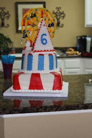 carnival ferris wheel 6th birthday cake cakecentral com