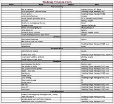 exles of wedding reception programs sle timeline for wedding day 28 images agenda timeline