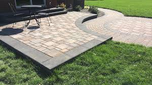 brick paver patio installation livonia southeast michigan
