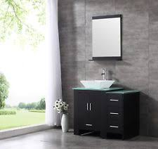 Black Bathroom Vanity With Sink by 36 Bathroom Vanity Ebay