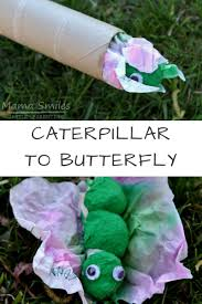 caterpillar to butterfly craft and recommended books