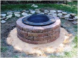 Fire Pit Kits by Backyards Cozy Simple Backyard Fire Pit Cheap Backyard Fire Pit
